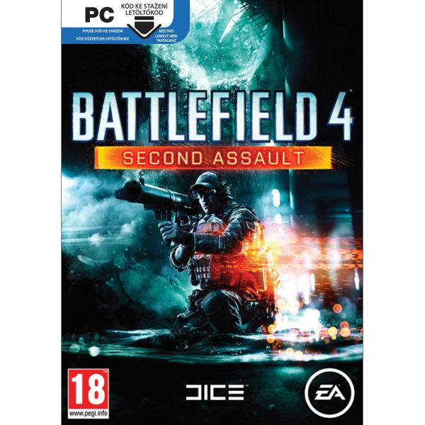 Battlefield 4: Second Assault CZ PC Code-in-a-Box