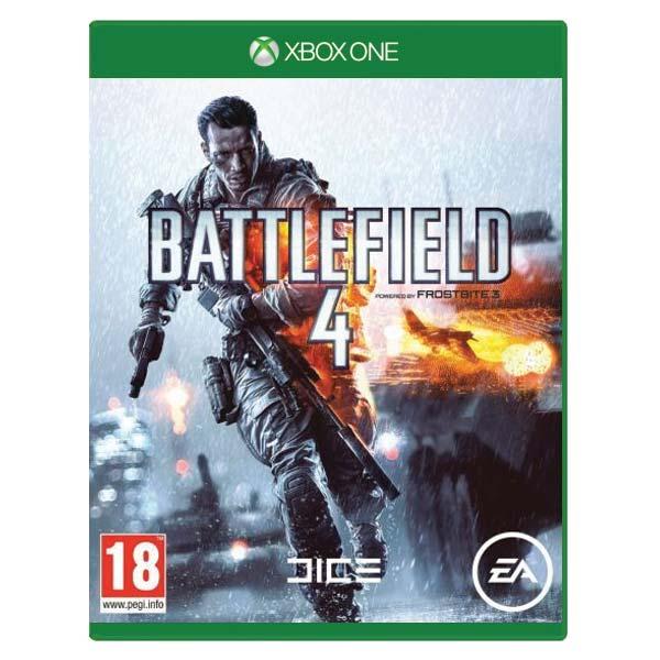 Battlefield 4- XBOX ONE- BAZÁR (použitý tovar)