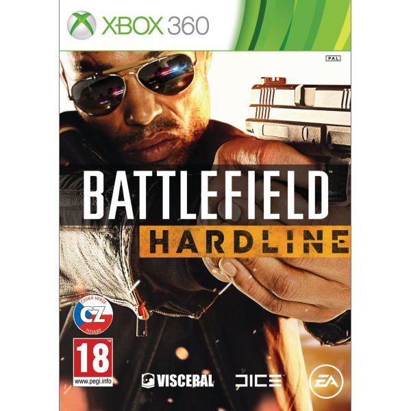 Battlefield: Hardline CZ [XBOX 360] - BAZÁR (použitý tovar)