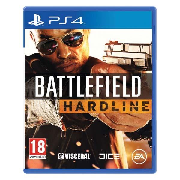 Battlefield: Hardline akcia [PS4] - BAZÁR (použitý tovar)