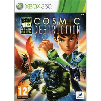 Ben 10 Ultimate Alien: Cosmic Destruction [XBOX 360] - BAZÁR (použitý tovar)