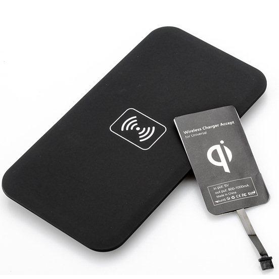 Bezdrôtové nabíjanie pre Alcatel OneTouch 6039Y Idol 3 (4.7) + bezdrôtová nabíjačka