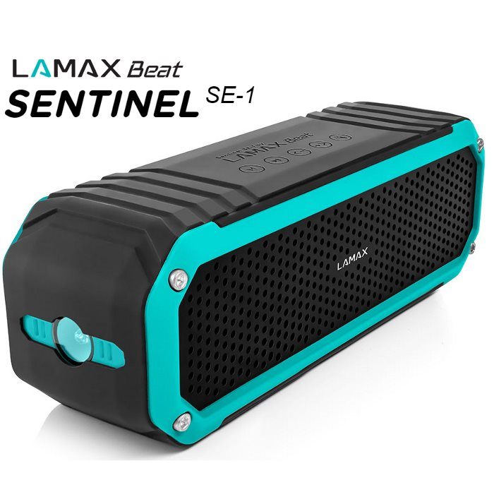 Bezdrôtový reproduktor LAMAX Beat SENTINEL SE-1 + FM radio + slot na pamäťovú kartu 8594175350708