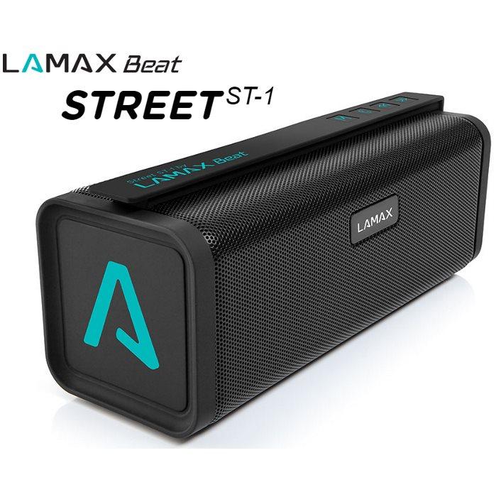 Bezdr�tov� reproduktor LAMAX Beat STREET ST-1 + FM radio + slot na pam�ov� kartu