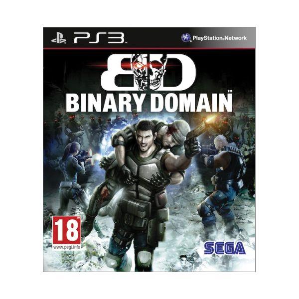 Binary Domain [PS3] - BAZÁR (použitý tovar)