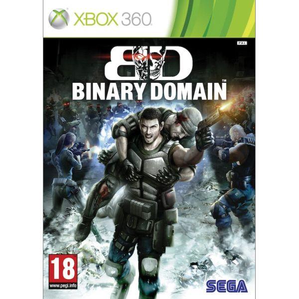 Binary Domain [XBOX 360] - BAZÁR (použitý tovar)