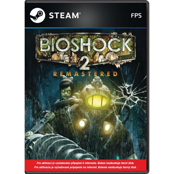 BioShock 2 (Remastered) PC Code-in-a-Box CD-key