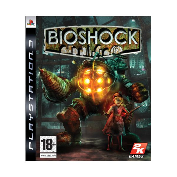 BioShock [PS3] - BAZÁR (použitý tovar)