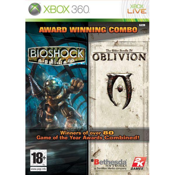 BioShock + The Elder Scrolls 4: Oblivion [XBOX 360] - BAZÁR (použitý tovar)
