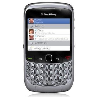 BlackBerry 8520 Curve - Qwerty   Silver, Trieda C - použité, záruka 12 mesiacov