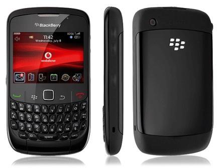 BlackBerry 8520 Curve - Qwertz   Black, Trieda C - použité, záruka 12 mesiacov