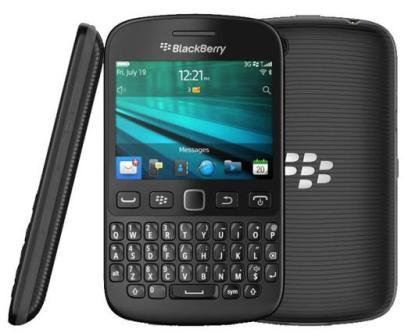 BlackBerry 9720 - Azerty | Black, Trieda C - použité, záruka 12 mesiacov