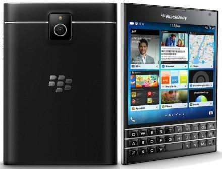 BlackBerry Passport - Azerty | Black, Trieda B - použité, záruka 12 mesiacov