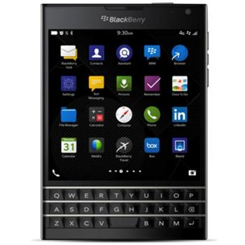 BlackBerry Passport - Qwerty, Black - - BAZÁR (použitý tovar , zmluvnázáruka18 mesiacov)