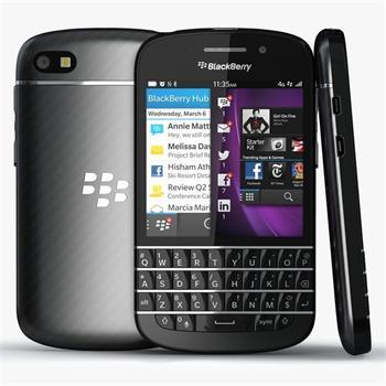 BlackBerry Q10, /AZERTY/- Trieda A - použité, záruka 12 mesiacov