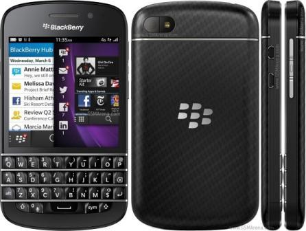 BlackBerry Q10 - Qwerty   Black, Trieda C - použité, záruka 12 mesiacov