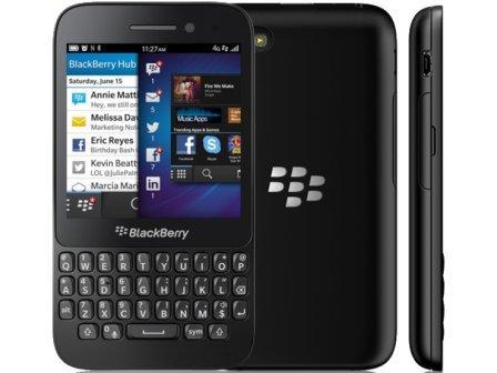 BlackBerry Q5 - Azerty | Black, Trieda B - použité, záruka 12 mesiacov