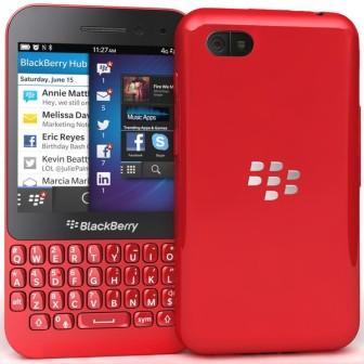 BlackBerry Q5 - Qwerty | Red, Trieda A - použité, záruka 12 mesiacov