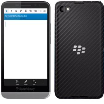 BlackBerry Z30, 16GB | Black - rozbalené balenie