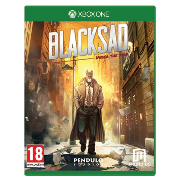 Blacksad: Under the Skin (Limited Edition) XBOX ONE