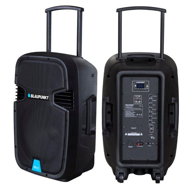 BlauPunkt PA12, Karaoke bluetooth reproduktor, 650W