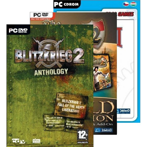 Blitzkrieg 2 Anthology + The Guild 2 (Gold Edition) + Industry Giant 2