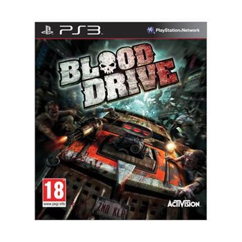 Blood Drive [PS3] - BAZÁR (použitý tovar)