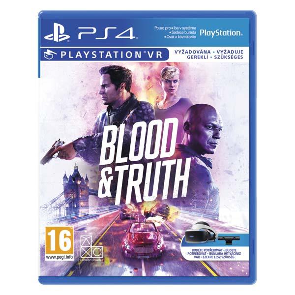 Blood & Truth [PS4] - BAZÁR (použitý tovar)