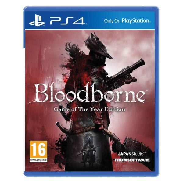 Bloodborne (Game of the Year Edition) [PS4] - BAZÁR (použitý tovar)