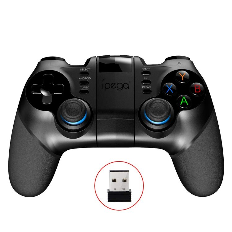 Bluetooth Gamepad iPega 9156 s USB prijímaèom - openbox