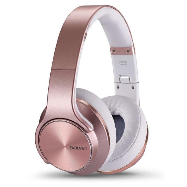 Bluetooth Stereo Headset EVOLVEO SUPREMESOUND E9, Rose Gold