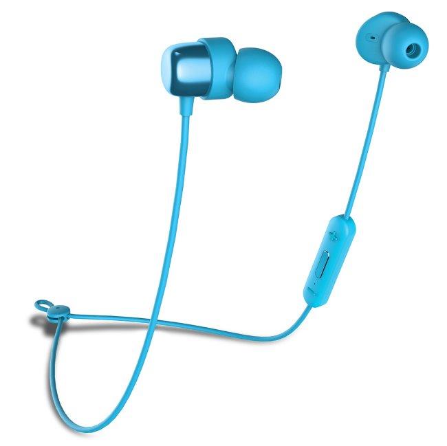Bluetooth Stereo Headset Niceboy Hive E2, Blue