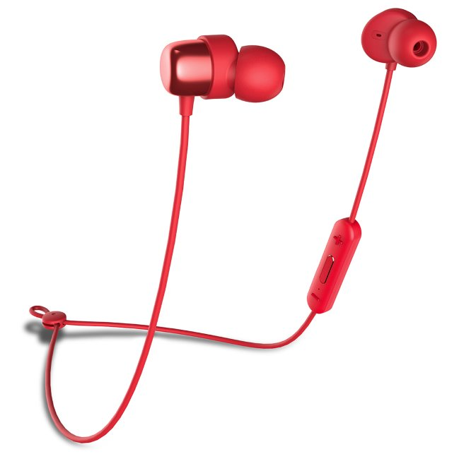 Bluetooth Stereo Headset Niceboy Hive E2, Red
