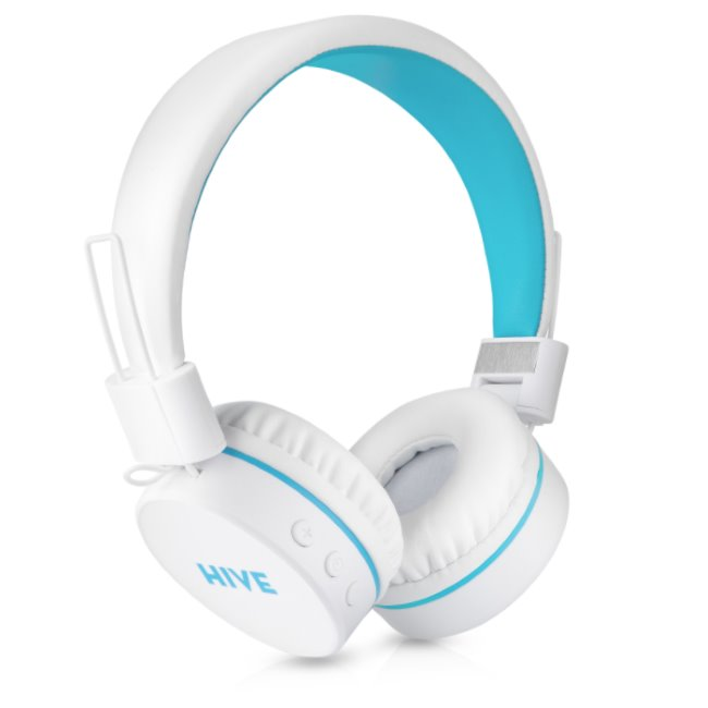Bluetooth Stereo Headset Niceboy Hive, White