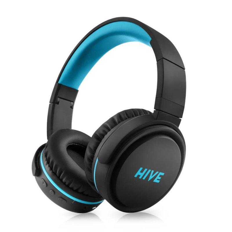 Bluetooth Stereo Headset Niceboy Hive XL, Black