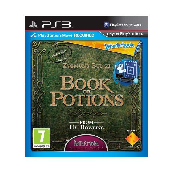 Wonderbook: Book of Potions CZ [PS3] - BAZÁR (použitý tovar)