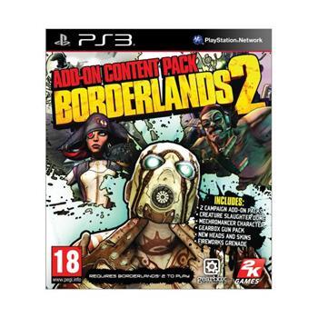 Borderlands 2: Add-on Content Pack [PS3] - BAZÁR (použitý tovar)