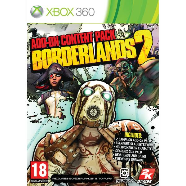 Borderlands 2: Add-on Content Pack XBOX 360