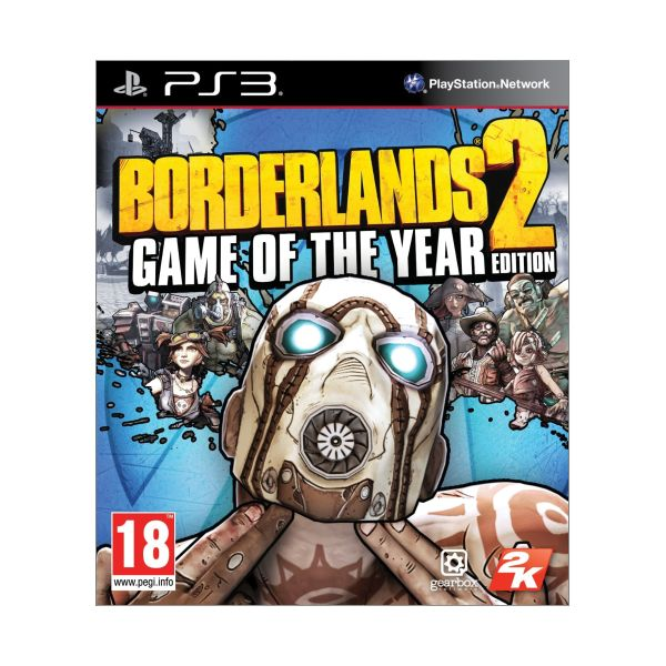 Borderlands 2 (Game of the Year Edition) [PS3] - BAZÁR (použitý tovar)