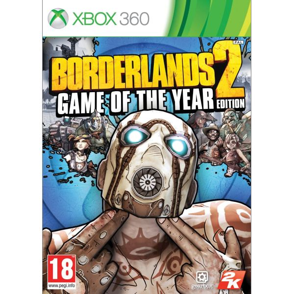 Borderlands 2 (Game of the Year Edition) XBOX 360