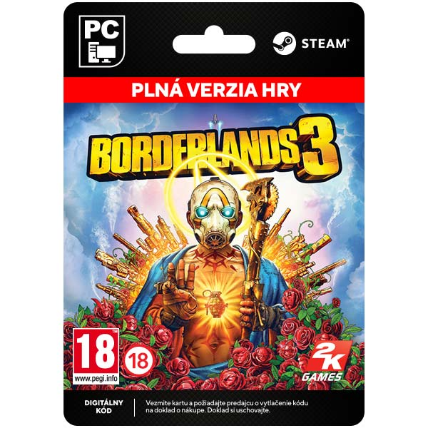 Borderlands 3 [Steam] PC digital