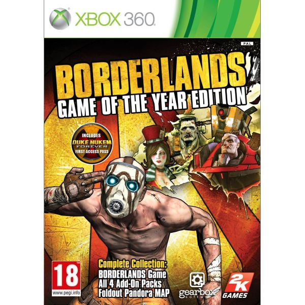 Borderlands (Game of the Year Edition) XBOX 360