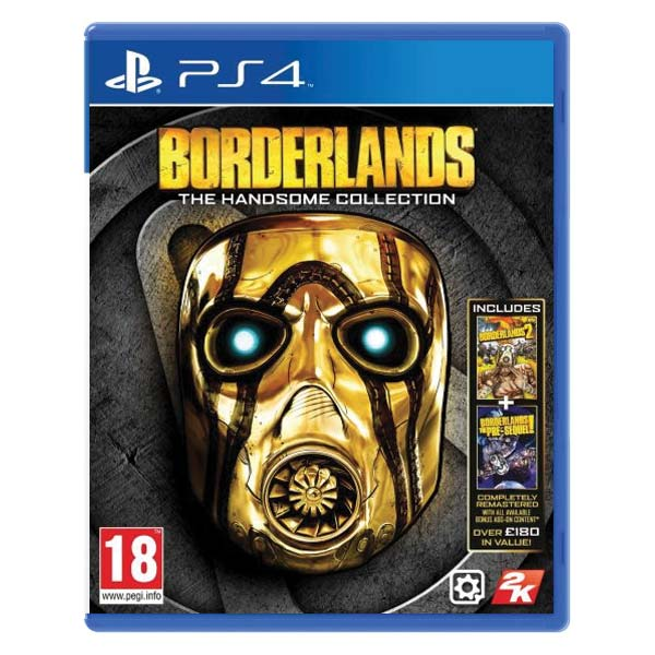 Borderlands (The Handsome Collection) [PS4] - BAZÁR (použitý tovar)