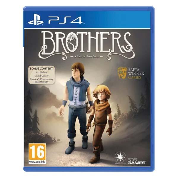 Brothers: A Tale of Two Sons [PS4] - BAZÁR (použitý tovar)