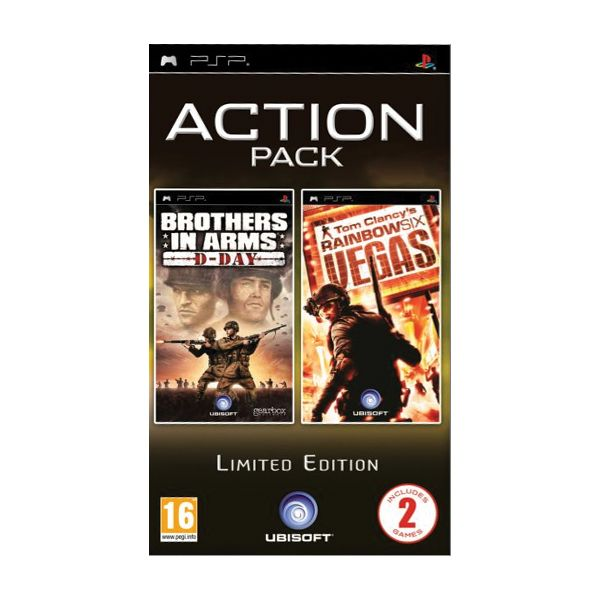 Brothers in Arms: D-Day + Tom Clancy's Rainbow Six: Vegas (Limited Edition)
