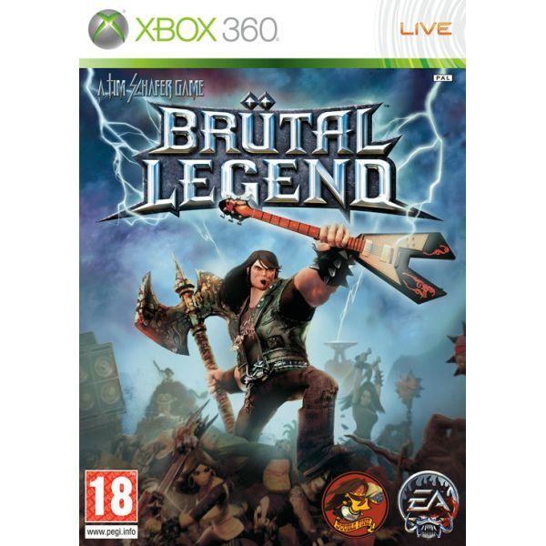 Brütal Legend [XBOX 360] - BAZÁR (použitý tovar)