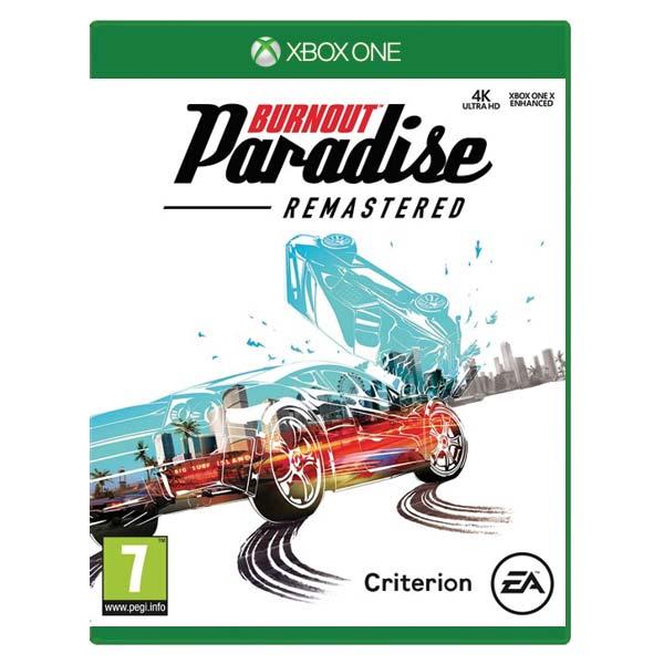 Burnout: Paradise (Remastered) [XBOX ONE] - BAZÁR (použitý tovar)