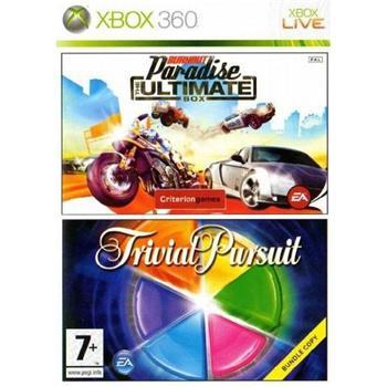 Burnout: Paradise (The Ultimate Box) + Trivial Pursuit [XBOX 360] - BAZÁR (použitý tovar)