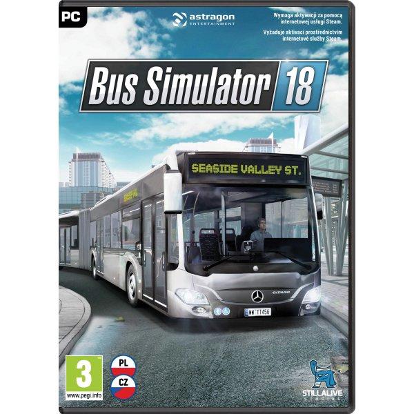 Bus Simulator 2018 CZ (Steam)