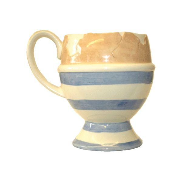 Butterworth Collection 3D keramický hrnèek, egg cup